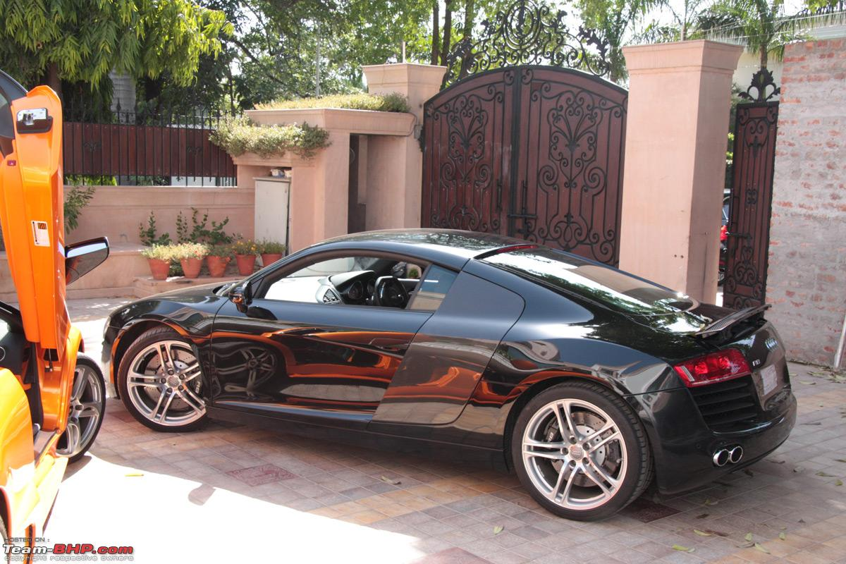 Audi R8 With Lamborghini And Bmw Indian Cars Autocar