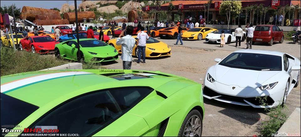 Pics Lamborghini Brunch Drive Bangalore Team Bhp