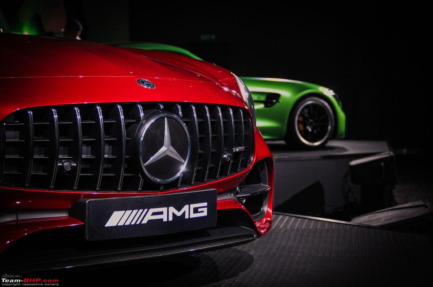Mercedes Amg Gt R Amg Gt Roadster Launched In India Team Bhp