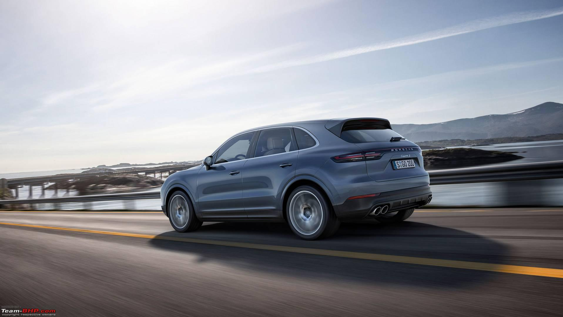 Rumour 3rd Gen Porsche Cayenne To Be Launched In Mid 2018