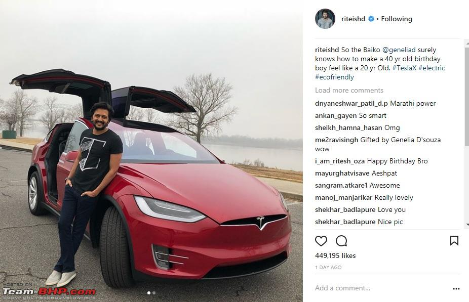 1st Tesla arrives in India - The Model X - Page 4 - Team-BHP