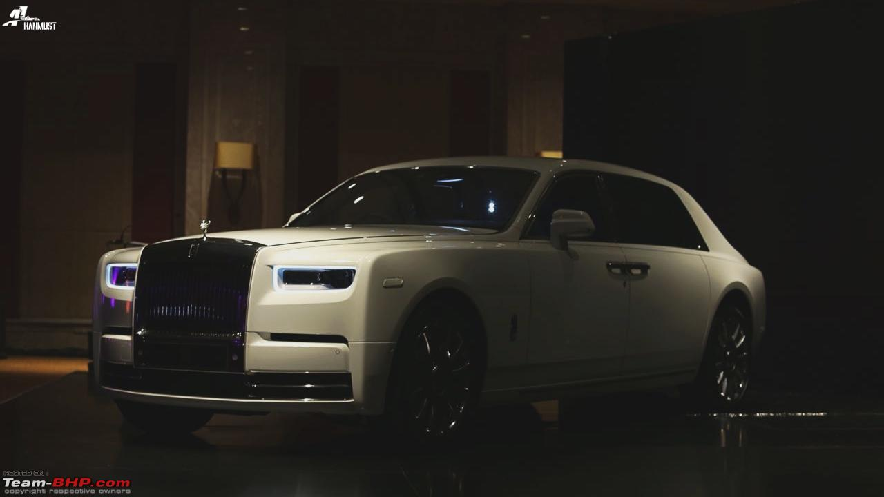 Rolls-Royce Phantom VIII launched in India - Team-BHP