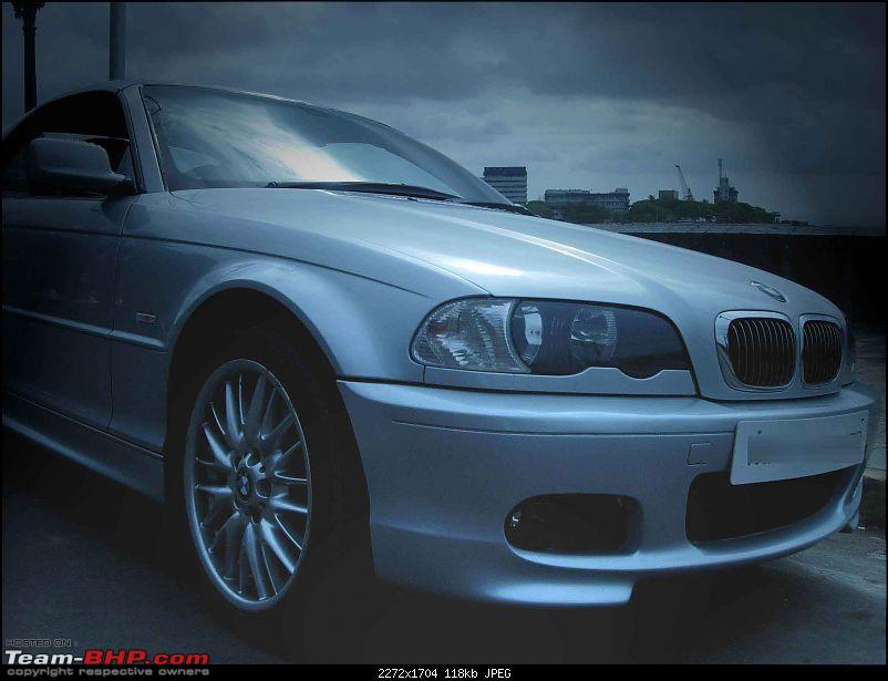 Great looking BMWs: 325ci with M sport body kit and a lot more ! :D-angular_front_morn.jpg