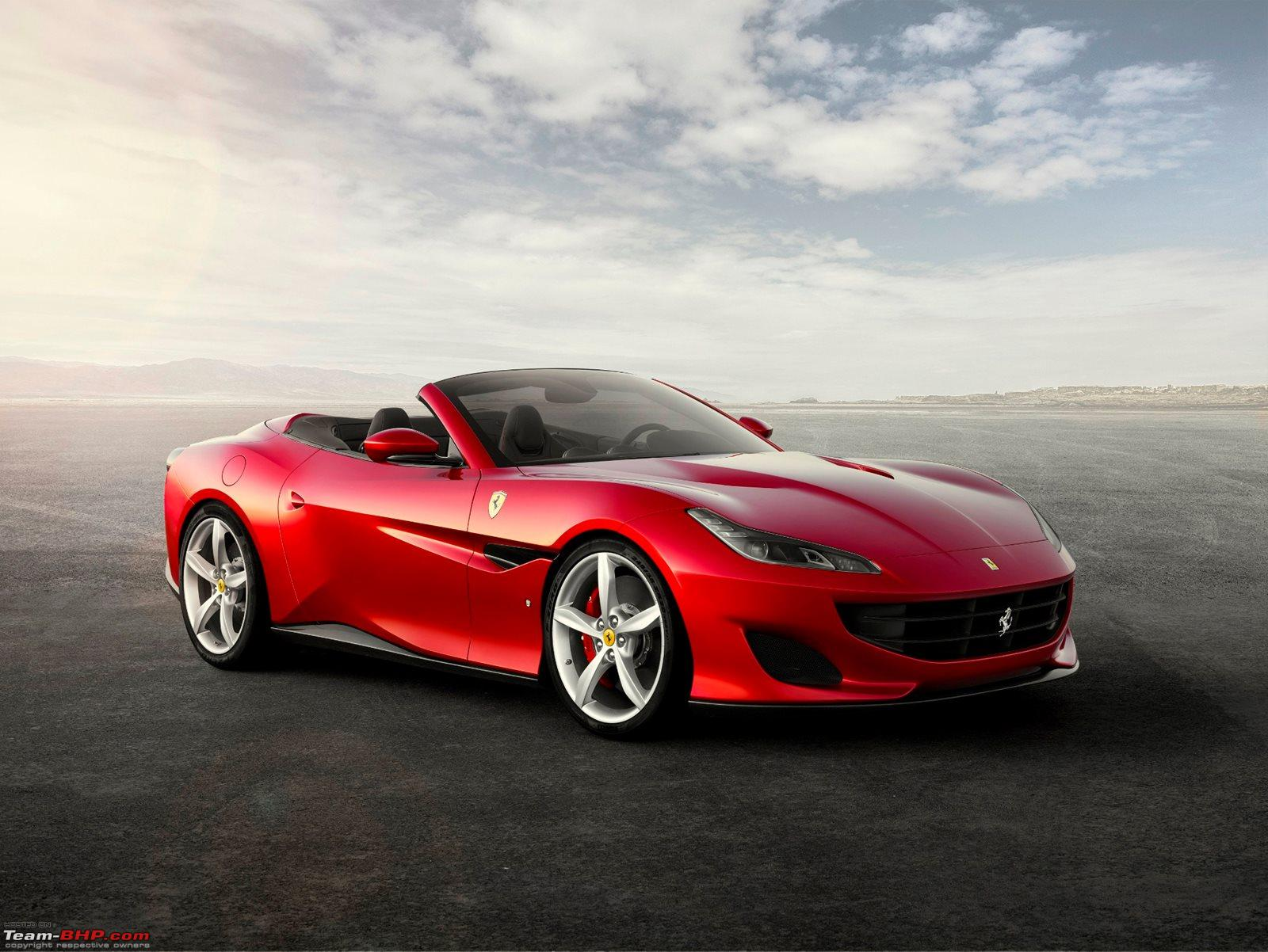 Ferrari Portofino Launched At Rs 3 5 Crore Team Bhp