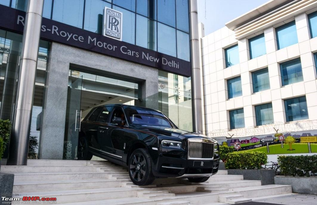 Rolls Royce Cullinan Launched At Rs 6 95 Crore Team Bhp