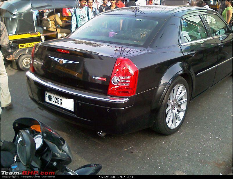 Pics: Chrysler 300C Hemi SRT8 in Mumbai-300c_rear.jpg