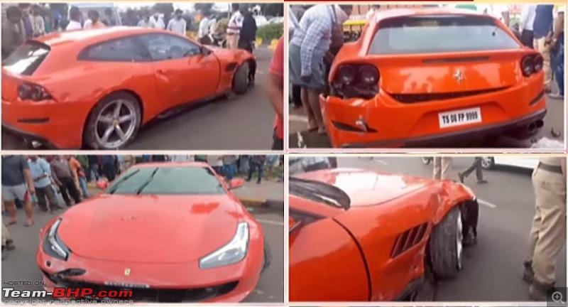 Supercar & Import Crashes in India-ferrari.jpg