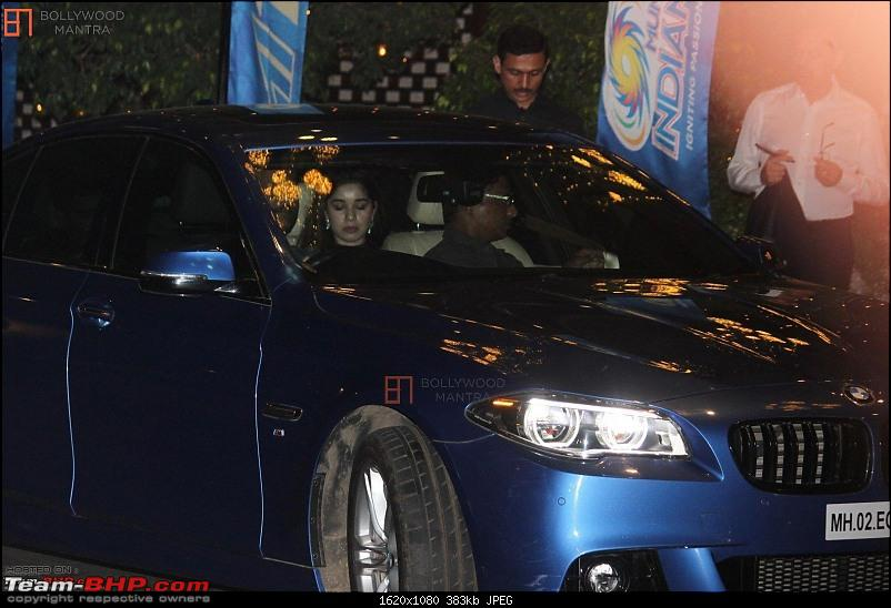 The Master Blaster's garage : Sachin Tendulkar's car collection-ambanisbashformumbaiindians_1008905.jpg