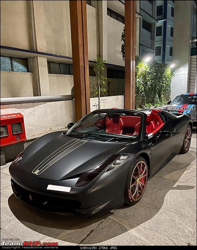 Modified Supercars & Exotic Cars in India-black-458-spider.jpg