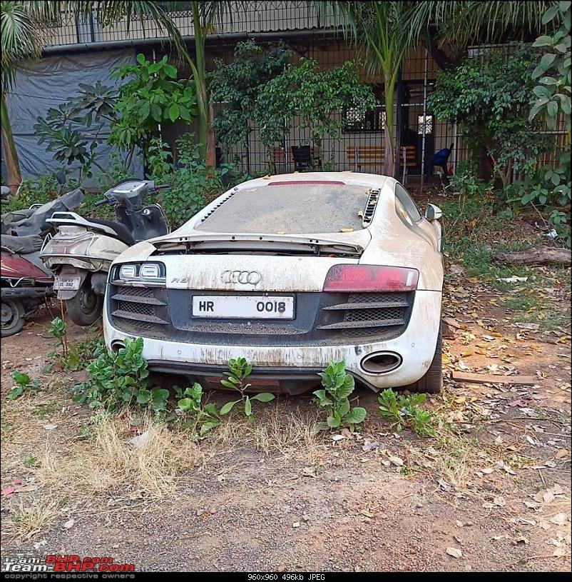 Impounded Exotics & Supercars in India: Tales of drugs, fraud and murder-kholi-r8-2.jpg