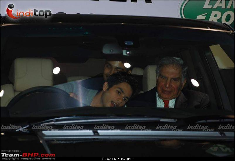Bollywood Stars and their Cars-shahid20kapoor20at20range20rover20event20205.jpg