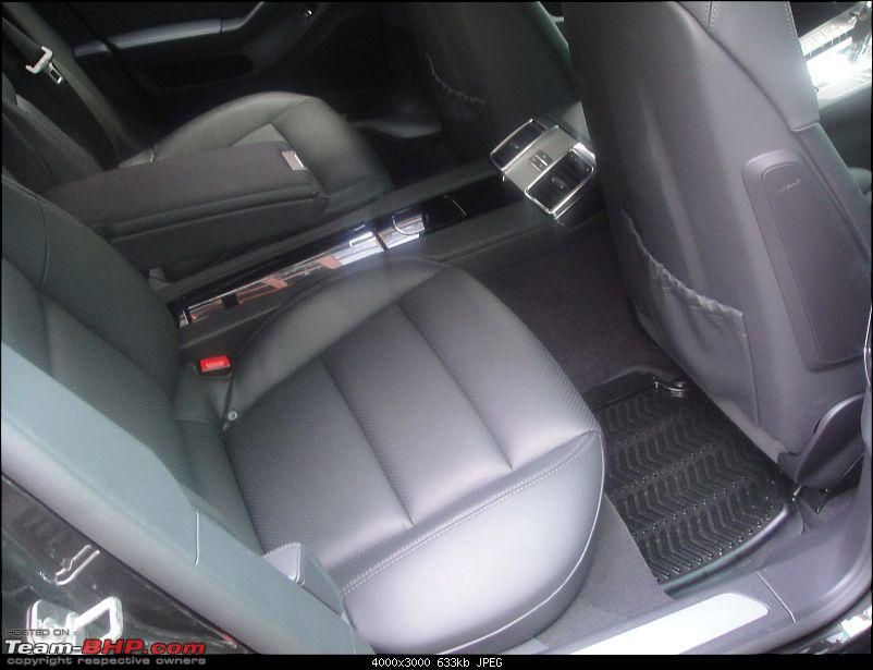 Supercars & Imports : Delhi-rear-seats.jpg
