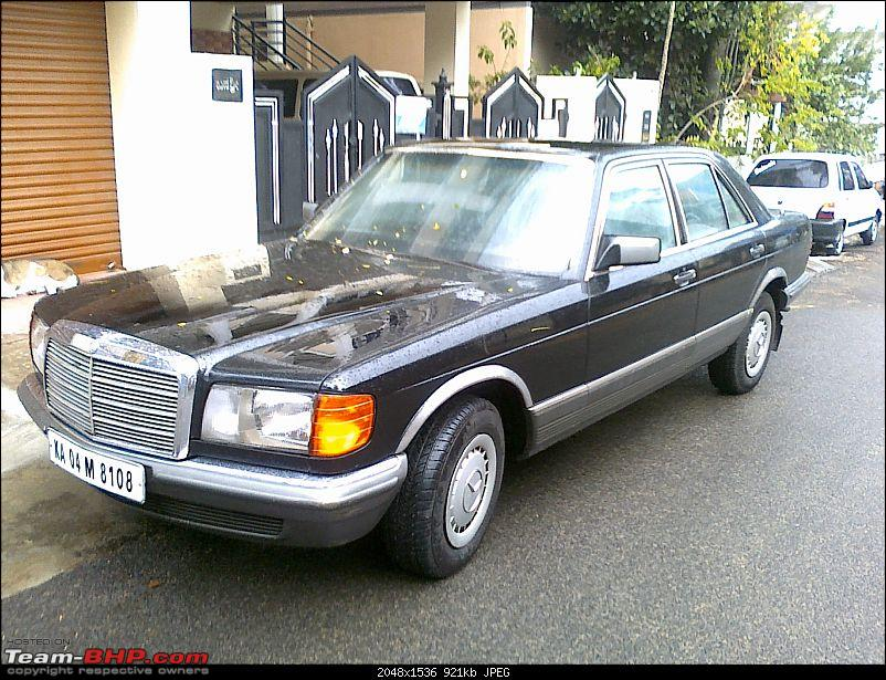 My first gift to myself for the new year's eve! A Mercedes W126..-31122009025.jpg