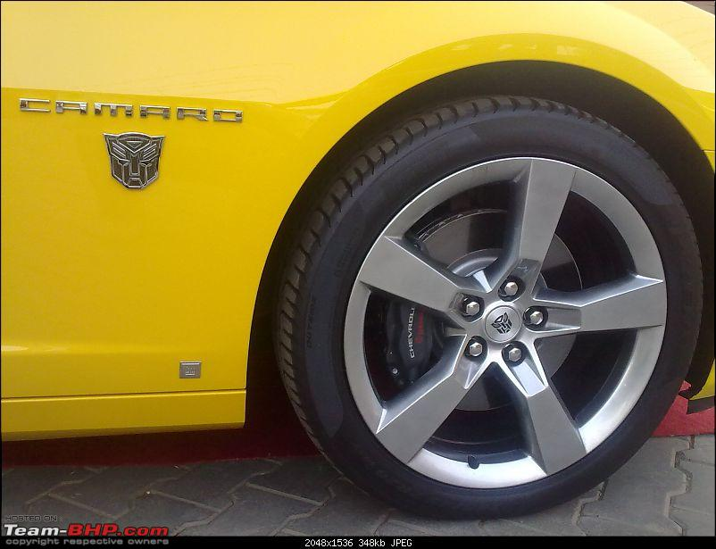 Pics: The Chevy Camaro Autobot Edition in India-22032010054.jpg