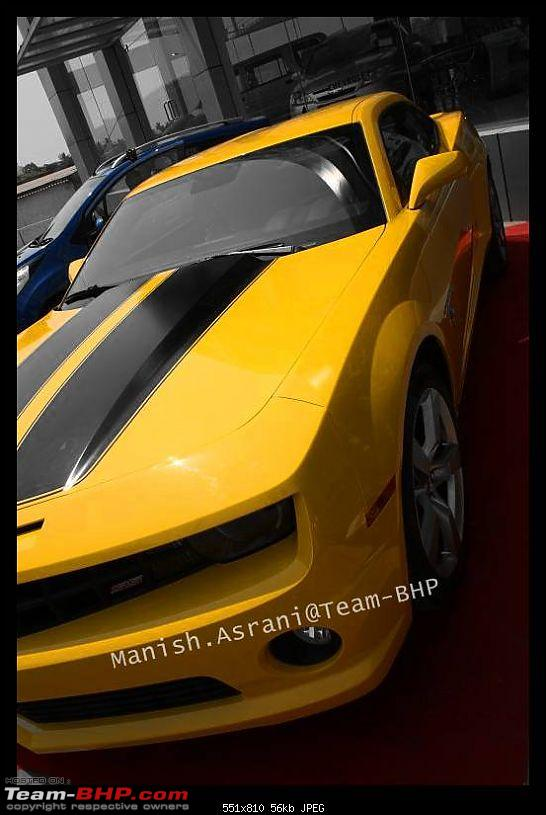 Pics: The Chevy Camaro Autobot Edition in India-img_4551.jpg