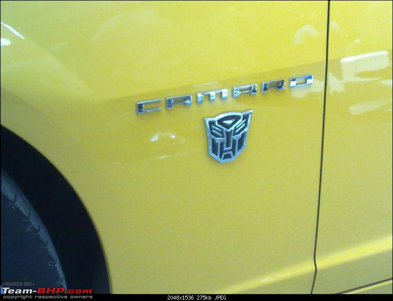 Pics: The Chevy Camaro Autobot Edition in India-27032010045.jpg