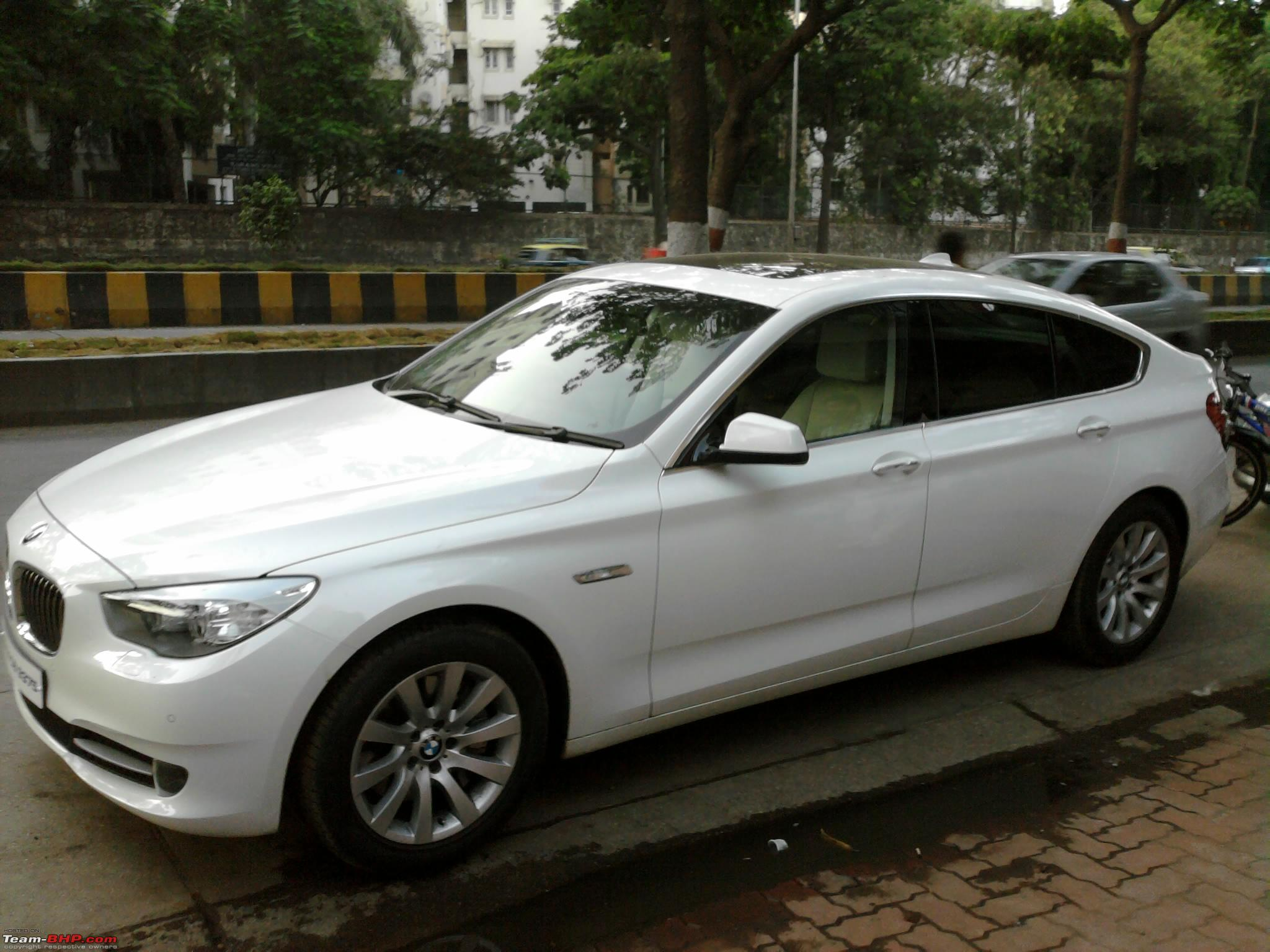 Spotted Bmw 5 Series Gt In Mumbai Photo0005 Jpg