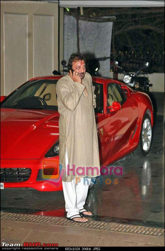 Bollywood Stars and their Cars-sanjay-dutt-sanjay-dutt_s-mata-ki-chowki-dutt-residence-bandra-19th-sep-2009-108.jpg