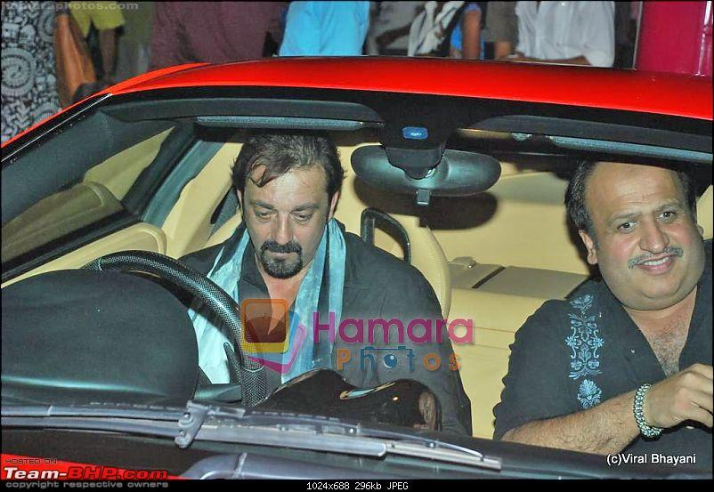 Bollywood Stars and their Cars-sanjay-dutt-being-human-show-hdil-day-2-13th-oct-2009-92.jpg