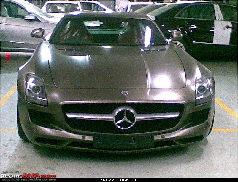 Mercedes SLS AMG launches in India today-16072010006.jpg