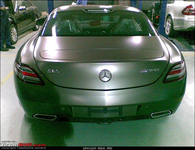 Mercedes SLS AMG launches in India today-16072010004.jpg