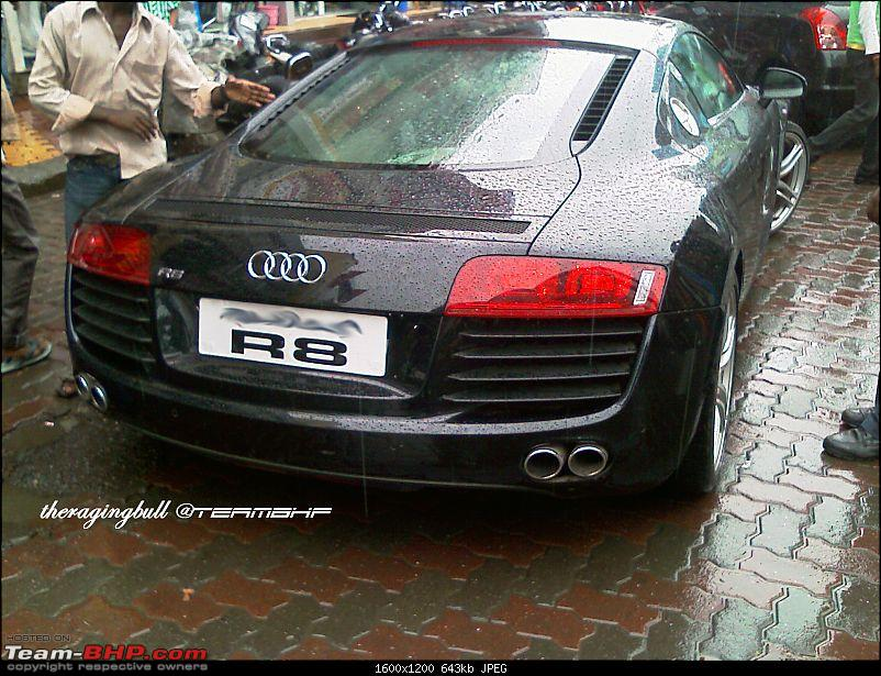 Mumbai - Audi R8 V8 Coupe' [4.2 FSI Quatrro, Manual Transmission]-rear.jpg
