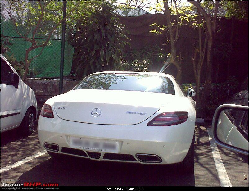 Mercedes SLS AMG in Mumbai! EDIT: And one more - Pics on pg3!-05022011227.jpg