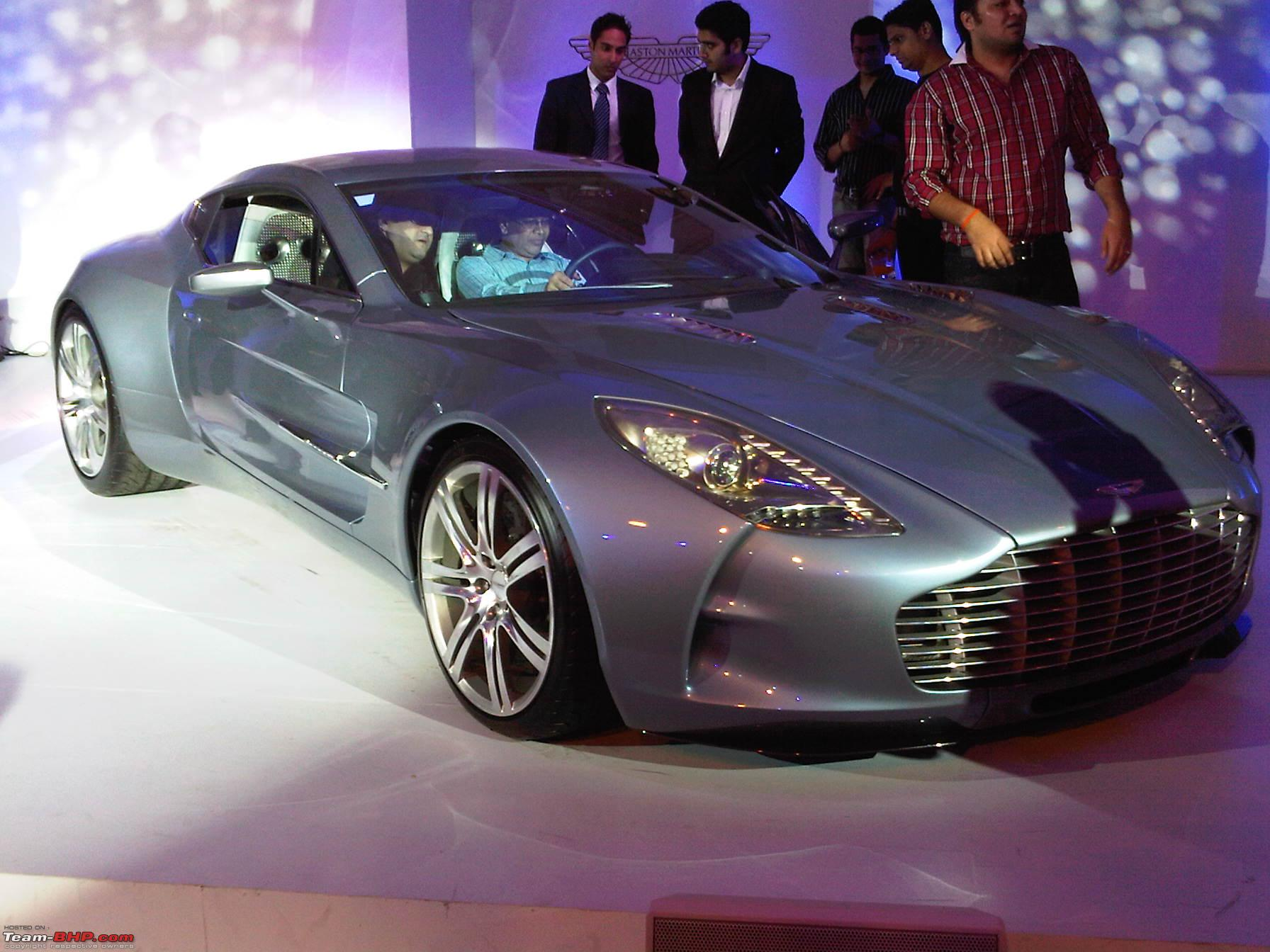 aston martin: officially launched in india on 15th april, 2011
