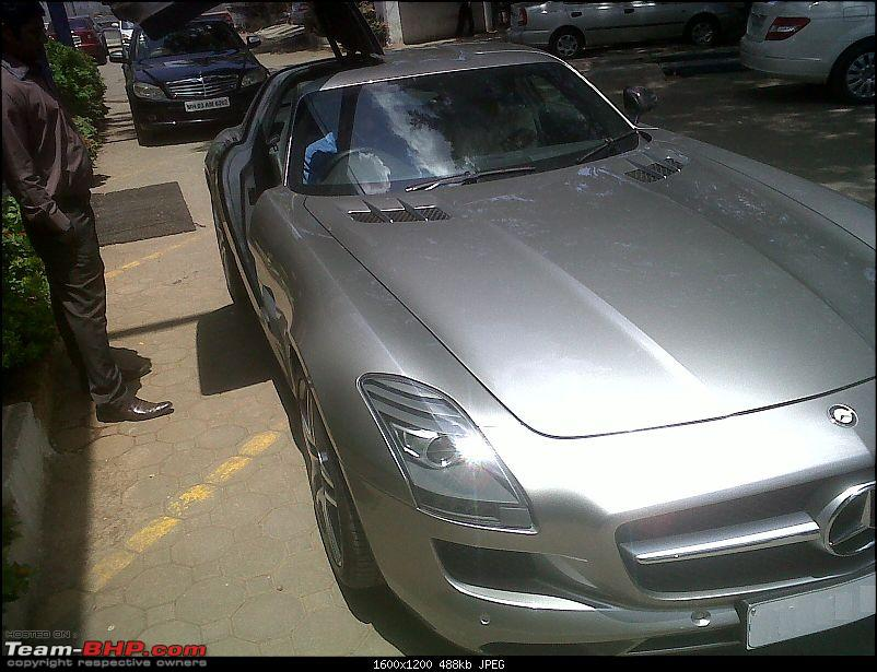 Mercedes SLS AMG in Mumbai! EDIT: And one more - Pics on pg3!-1.jpg
