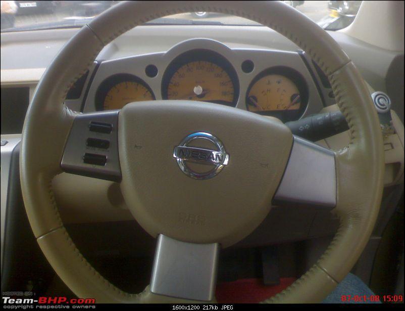Spotted Nissan Murano-Interior pics-6.jpg