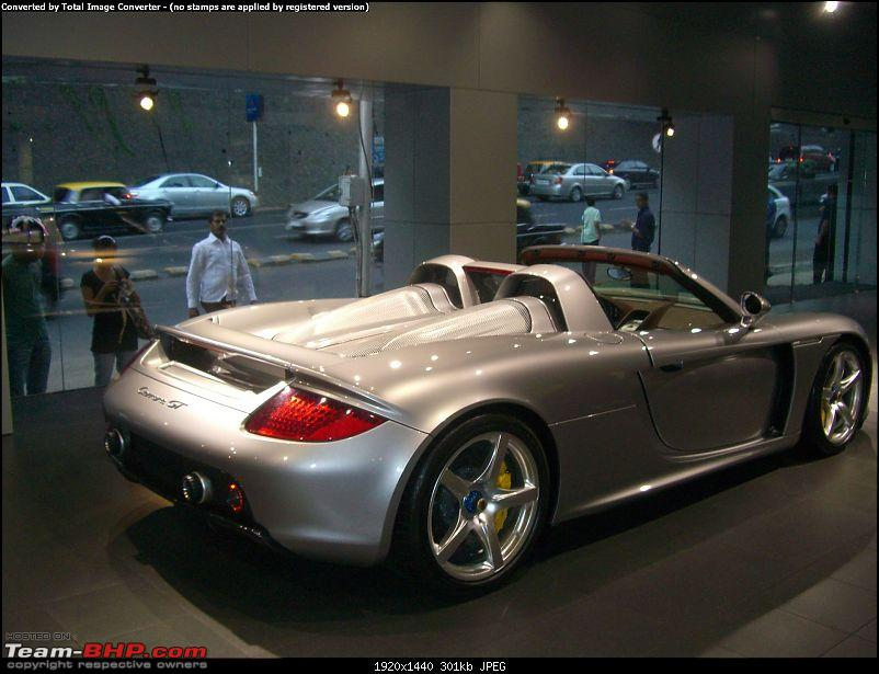 Red Porsche Carrera GT in Mumbai. EDIT: Silver one visiting as well...-cimg1175.jpg