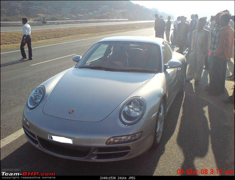 Nikhil's day out. 2 Ferraris, 911 turbo, 3 Carrera Ss, 1 Gallardo, 1 Bentley.....-image022.jpg