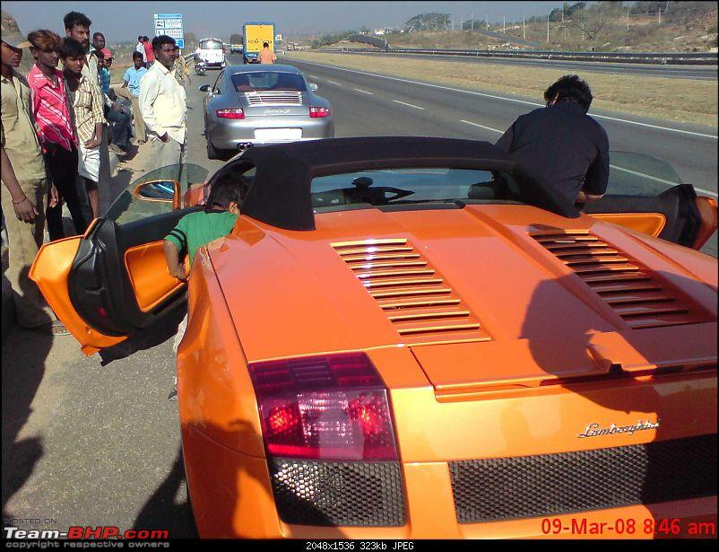 Nikhil's day out. 2 Ferraris, 911 turbo, 3 Carrera Ss, 1 Gallardo, 1 Bentley.....-image042.jpg