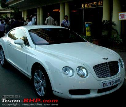 Name:  Abhishek Bachchans Bentley Continental GT.jpg