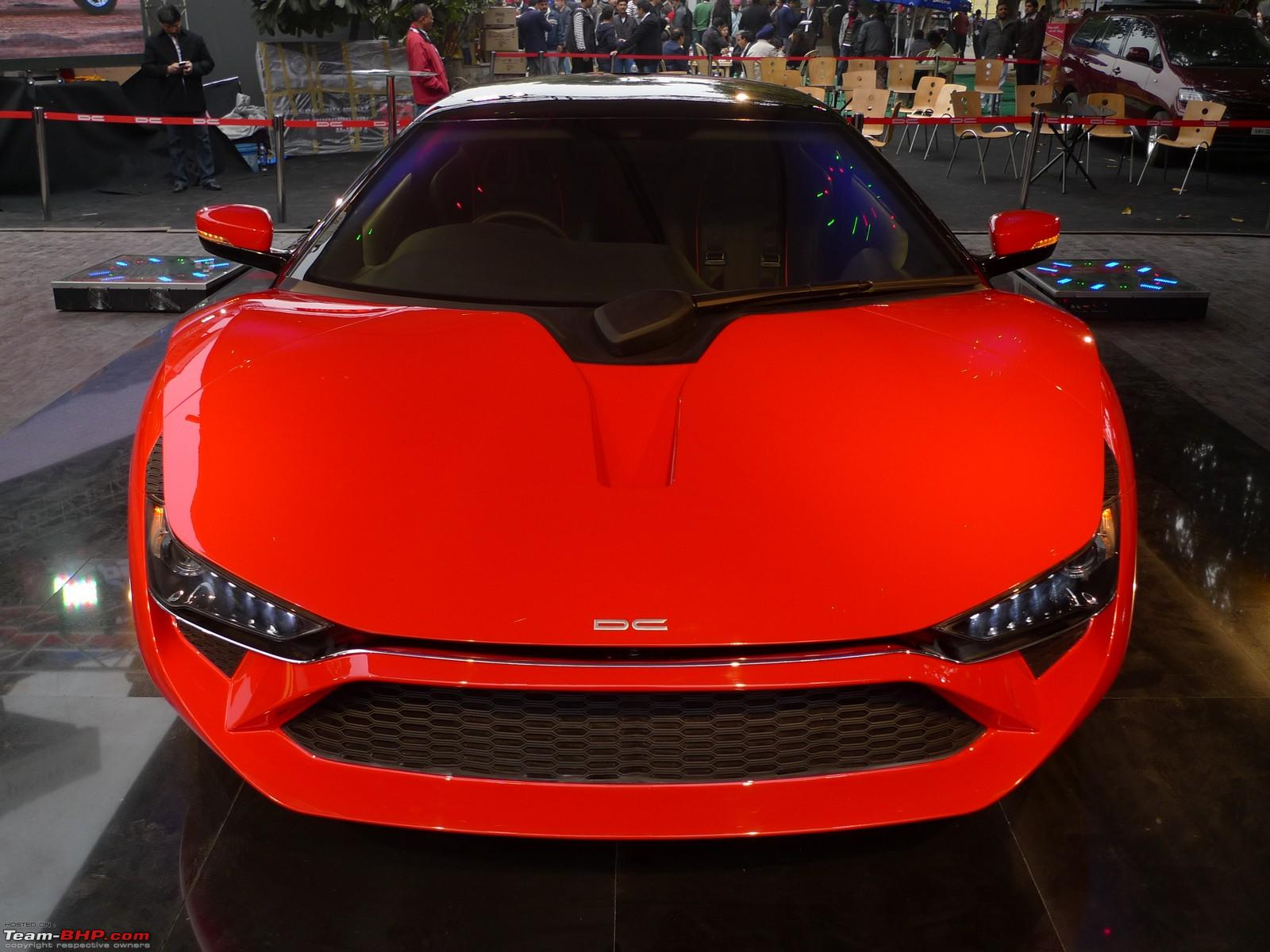 new car launches team bhpThe DC Avanti Sports Car  Auto Expo 2012 EDIT Now launched at Rs