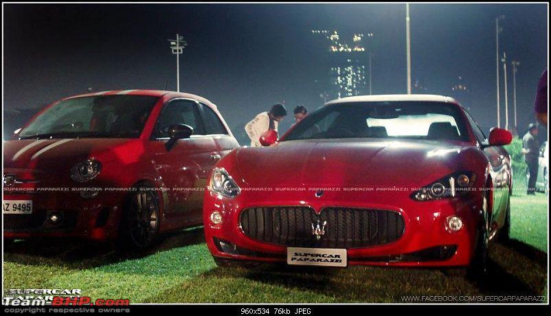 Exclusive Pics: Black Maserati GranTurismo in Mumbai ( EDIT: A white one too)-redmaser.jpg