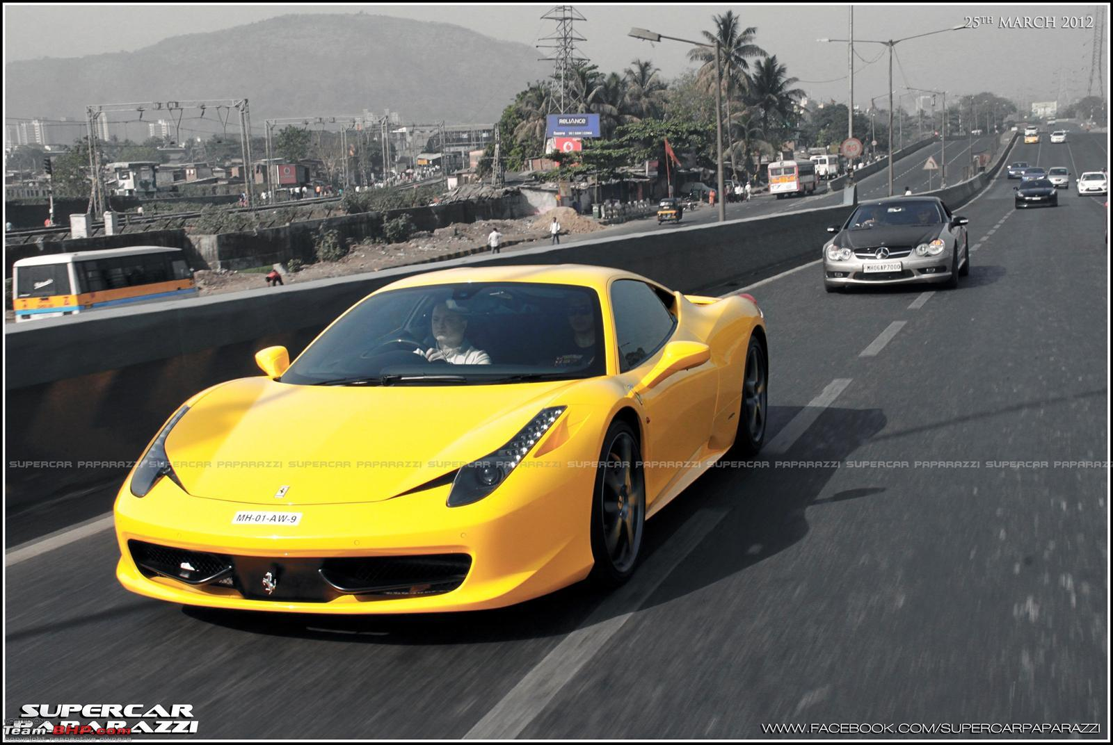 Pictures Mumbai Supercar Show Drive Page Team Bhp