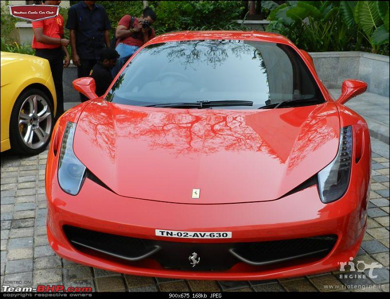 "Launch of ""Madras / Chennai Exotic Car Club"". EDIT : PICS on Page 3-ferrari458italiamadrasexoticcarsclublaunch02.jpg"
