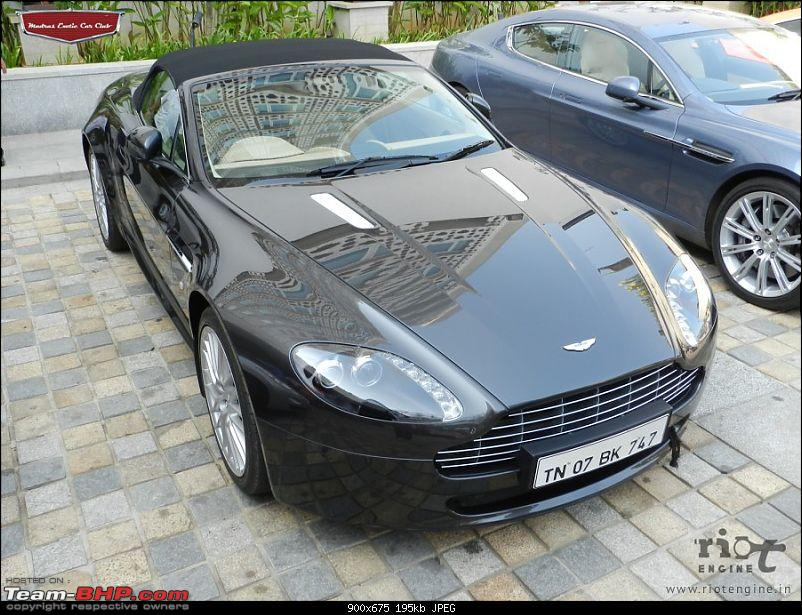 """Launch of """"Madras / Chennai Exotic Car Club"""". EDIT : PICS on Page 3-astonmartinvantageroadstermadrasexoticcarsclublaunch03.jpg"""