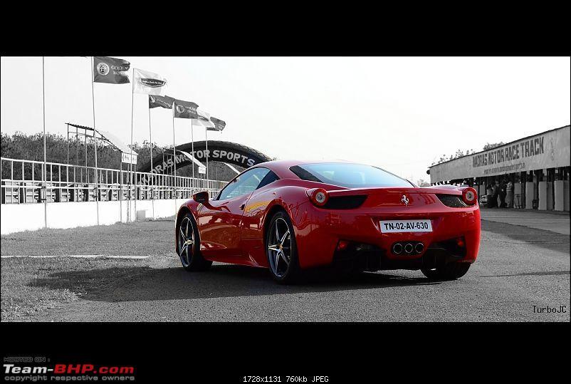 """Launch of """"Madras / Chennai Exotic Car Club"""". EDIT : PICS on Page 3-ferrari458r3.jpg"""