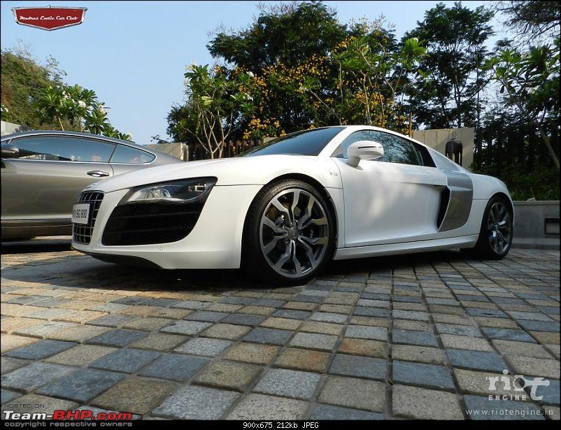 "Launch of ""Madras / Chennai Exotic Car Club"". EDIT : PICS on Page 3-audir8v10madrasexoticcarsclublaunch02.jpg"