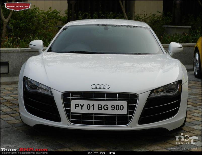 "Launch of ""Madras / Chennai Exotic Car Club"". EDIT : PICS on Page 3-audir8v10madrasexoticcarsclublaunch05.jpg"