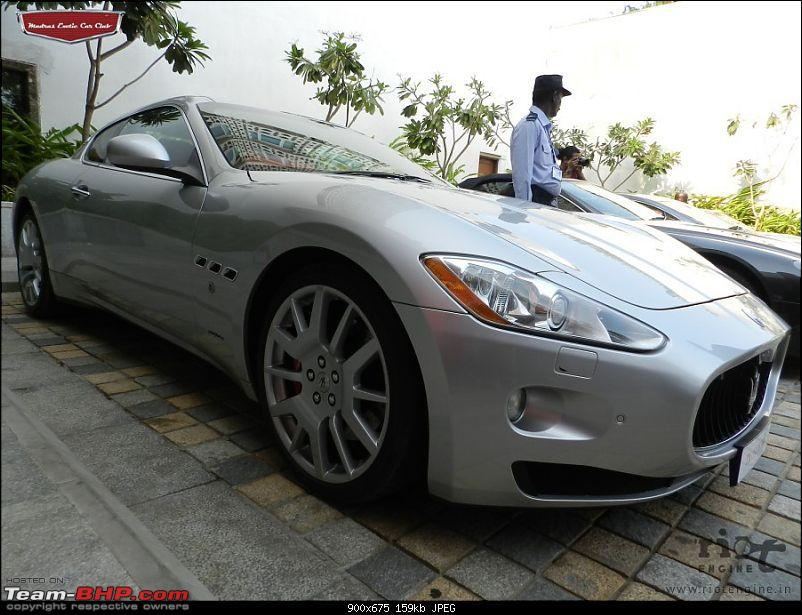 "Launch of ""Madras / Chennai Exotic Car Club"". EDIT : PICS on Page 3-maseratigranturismomadrasexoticcarsclublaunch07.jpg"
