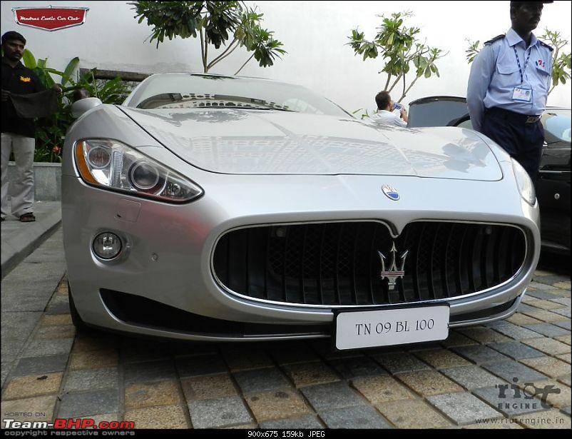 "Launch of ""Madras / Chennai Exotic Car Club"". EDIT : PICS on Page 3-maseratigranturismomadrasexoticcarsclublaunch03.jpg"