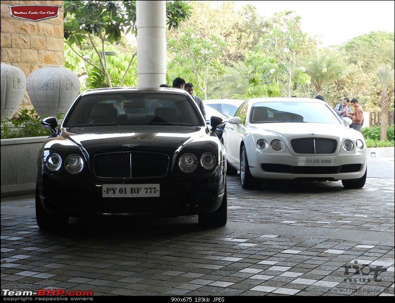 "Launch of ""Madras / Chennai Exotic Car Club"". EDIT : PICS on Page 3-bentleycontinentalflyingspurmadrasexoticcarclublaunch07.jpg"