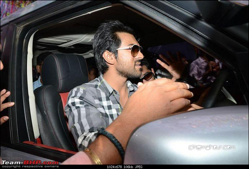 South Indian Movie stars and their cars-96125457jrntrramcharanatbaadshahmovielaunch13.jpg