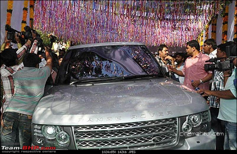 South Indian Movie stars and their cars-71042908jrntrramcharanatbaadshahmovielaunch12.jpg