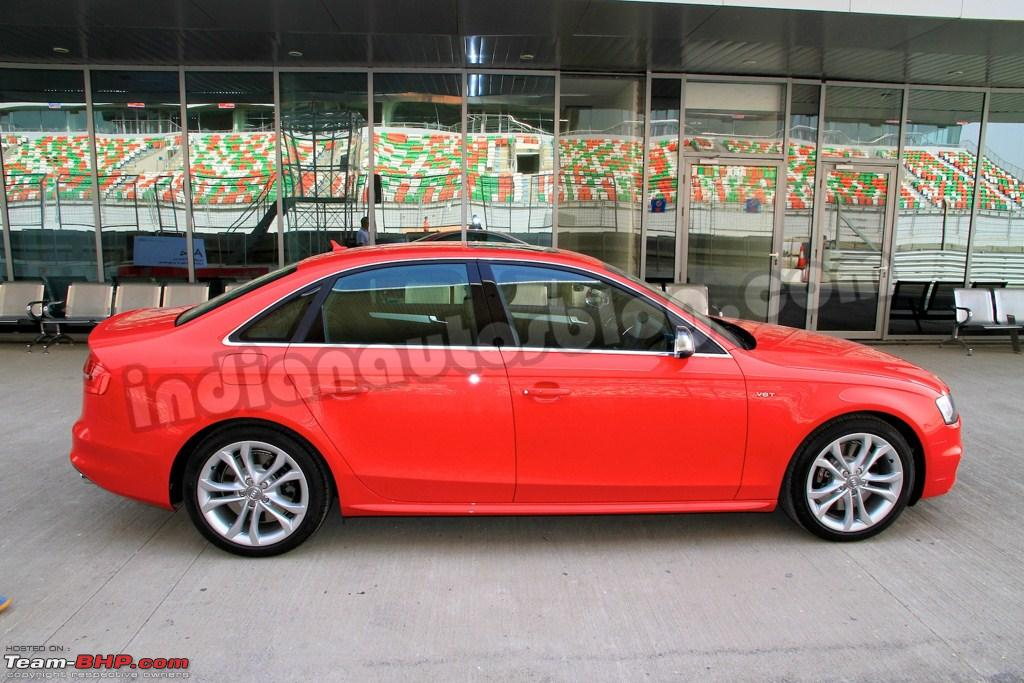 Audi to launch the S4 in India! - Team-BHP