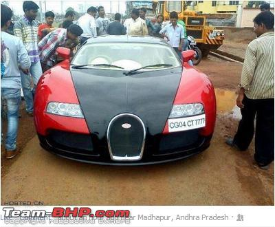 bugatti veyron purchased in india w pics team bhp. Black Bedroom Furniture Sets. Home Design Ideas