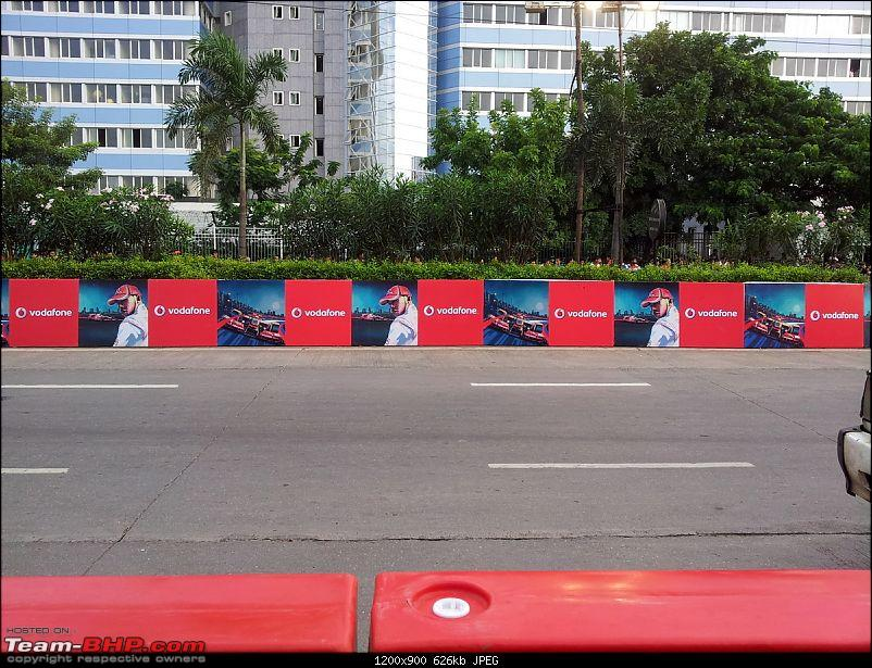Lewis Hamilton drives the McLaren Mercedes MP4-27 at BKC, Mumbai. Report on Page 3-20120916_173704.jpg